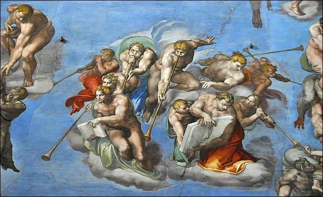 La chapelle sixtine merveille d italie culture online - Michel ange le plafond de la chapelle sixtine ...