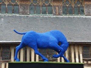 le cheval bleu, de Saône de Stahl