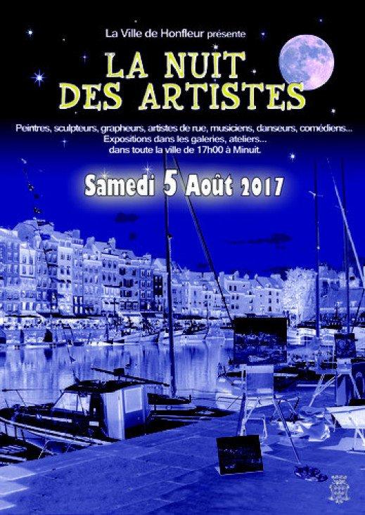 3e Nuit des Artistes à Honfleur